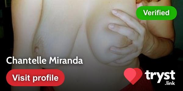 Chantelle Miranda's Tryst.link profile